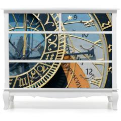 Naklejka na meble - prague astronomical clock