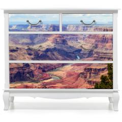 Naklejka na meble - Panorama image of Colorado river through Grand Canyon