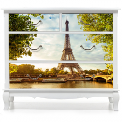 Naklejka na meble - Paris