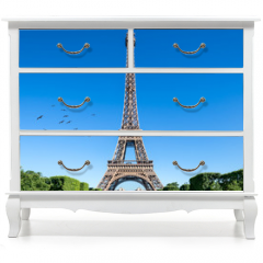 Naklejka na meble - Eiffelturm in Paris, Frankreich