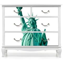 Naklejka na meble - Statue of Liberty isolated, New York City