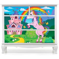 Naklejka na meble - Standing unicorn theme image 3
