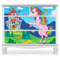Naklejka na meble - Standing unicorn theme image 4