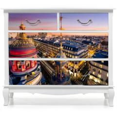 Naklejka na meble - Toits de Paris, France