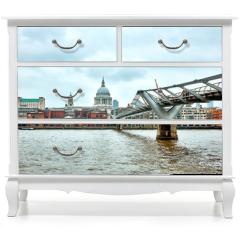 Naklejka na meble - London Millennium Bridge