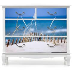 Naklejka na meble - lake sand dunes