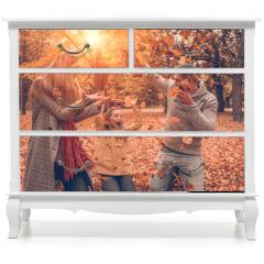 Naklejka na meble - Herbst spaß