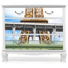 Naklejka na meble - la Tour Eiffel vista dalla Senna