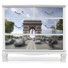 Naklejka na meble - triumphal arch on the Champs Elysées