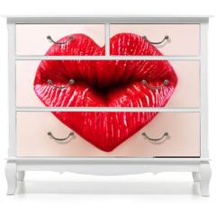 Naklejka na meble - saint valentine lips