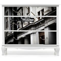 Naklejka na meble - Broadway sign