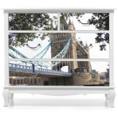 Naklejka na meble - Tower Bridge, one of the symbols of London.