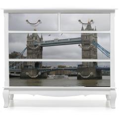 Naklejka na meble - London , Tower Bridge  , England , Themse , UK