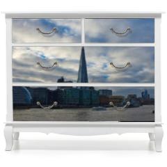 Naklejka na meble - London Skyline in WInter