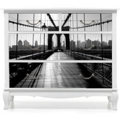 Naklejka na meble - Brooklyn Bridge, Manhattan, New York City, USA