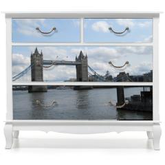 Naklejka na meble - London | Tower Bridge