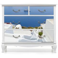 Naklejka na meble - Santorini