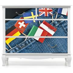 Naklejka na meble - Europa
