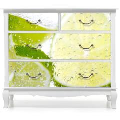 Naklejka na meble - Limette & Zitrone