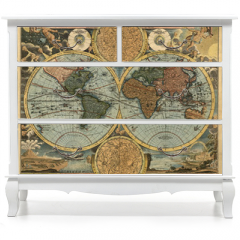 Naklejka na meble - Ancient map