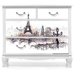 Naklejka na meble - Paris (series C)