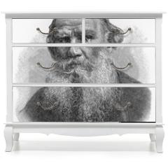 Naklejka na meble - Leo Nikolayevich Tolstoy