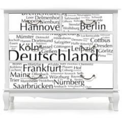 Naklejka na meble - Deutschland