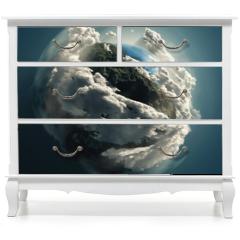 Naklejka na meble - mother earth