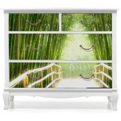 Naklejka na meble - Bambus-Allee