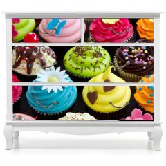 Naklejka na meble - Cupcakes