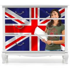 Naklejka na meble - Learn English