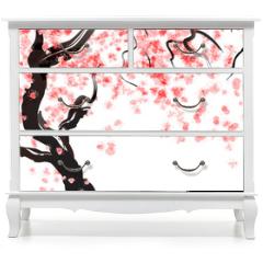 Naklejka na meble - Cherry tree blossom