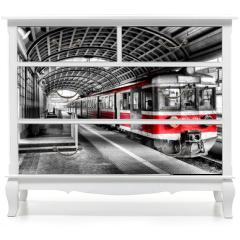 Naklejka na meble - train