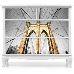 Naklejka na meble - The Brooklyn bridge, New York City. USA.