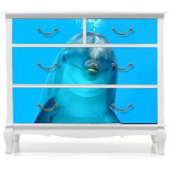 Naklejka na meble - Dolphin Look