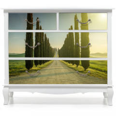 Naklejka na meble - Tuscany, Landscape. Italy