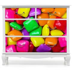 Naklejka na meble - colorful gum background