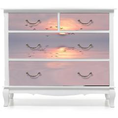 Naklejka na meble - amanecer de colores suaves