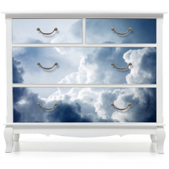 Naklejka na meble - Dramatic sky with stormy clouds