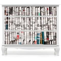 Naklejka na meble - collezione di quotidiani