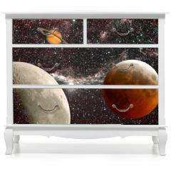 Naklejka na meble - leçon d'astronomie, les planètes