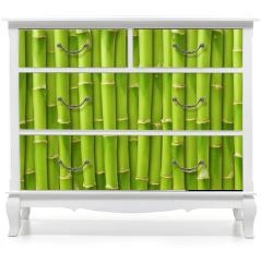 Naklejka na meble - green bamboo background