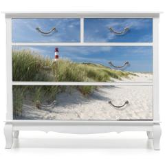 Naklejka na meble - Lighthouse on dune horizontal