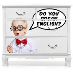 Naklejka na meble - Do you speak english?