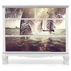Naklejka na meble - Tropical beach