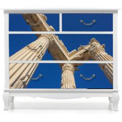 Naklejka na meble - Trojan temple columns