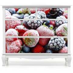 Naklejka na meble - frozen berries