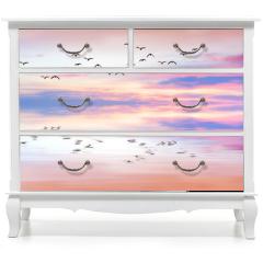 Naklejka na meble - panoramica de reflejos en el mar