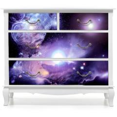 Naklejka na meble - Fantasy Space Nebula