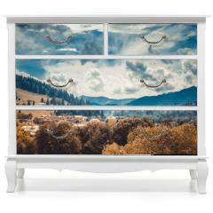 Naklejka na meble - landscape in mountains Karpaty